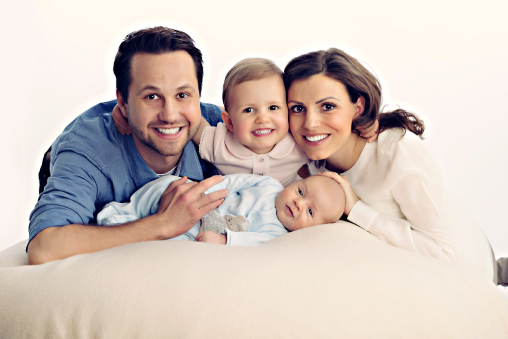 Familien Fotoshooting Muenchen