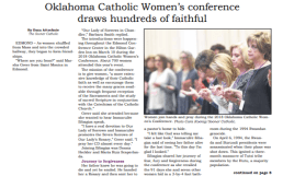 Inspirational Catholic Speaker Donna A Heckler featured at conference
