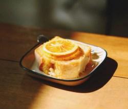 Orange Soaked Pound Cake