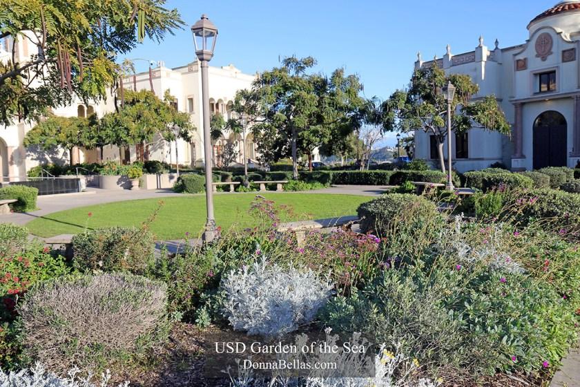 University of San Diego Garden of the Sea Photograph