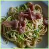 pasta carbonara met asperges