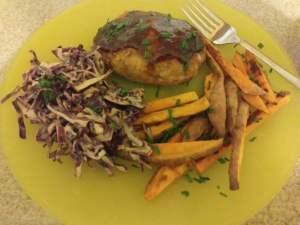 BBQ Pork Meatloaves meal kit