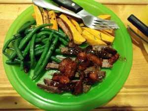 Sliced Steak Tagliani meal kit