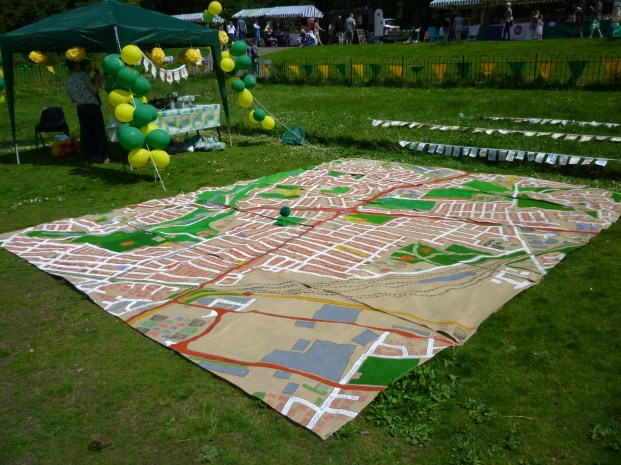 The whole map was 5m x 4m in size