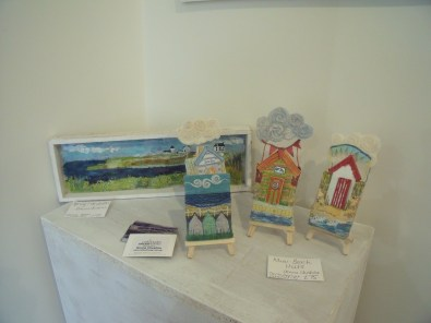 Smaller pieces on display
