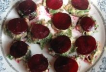 Beet Ravioli with Pine Nut Ricotta