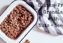 Gluten-Free Granola with Nuts and Seeds