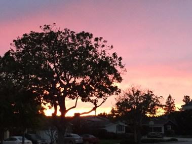 Sunset in Redondo Beach