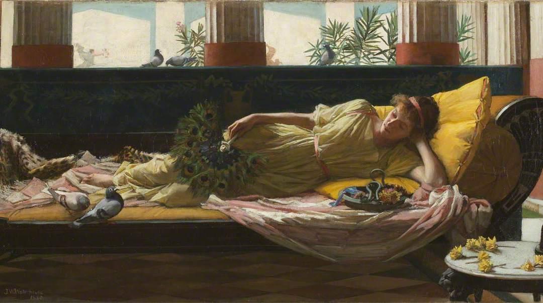 Dolce Far Niente by John William Waterhouse