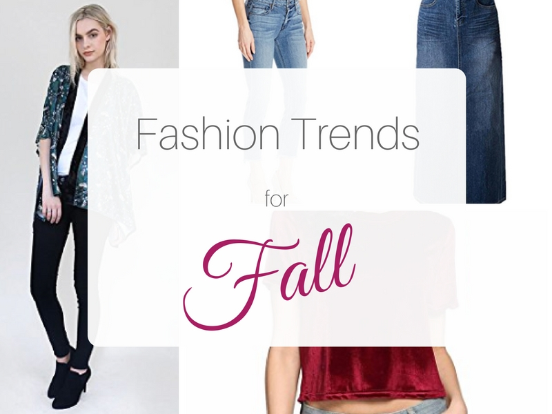 Fashion Trends for Fall 2017