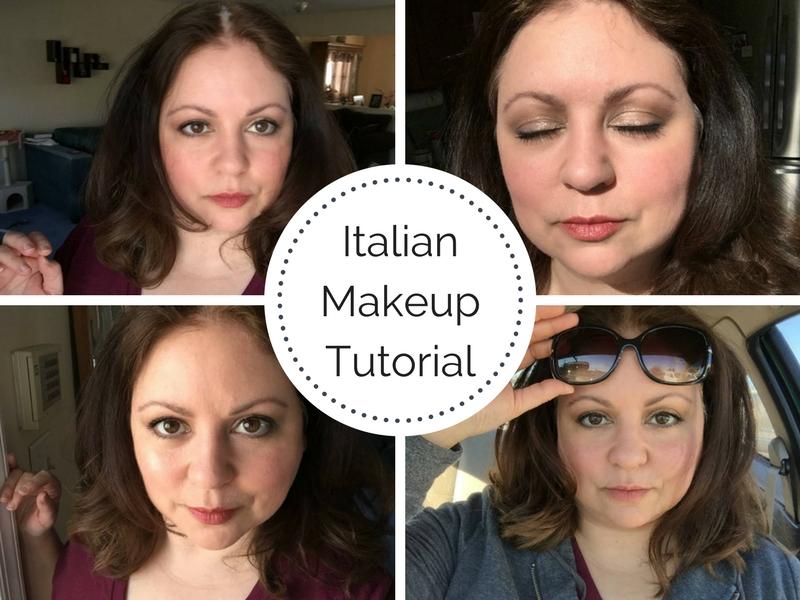 Italian Makeup Tutorial – La Dolce Vita Look
