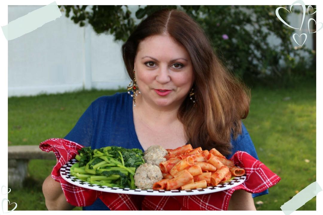 Donna DeRosa pasta dish