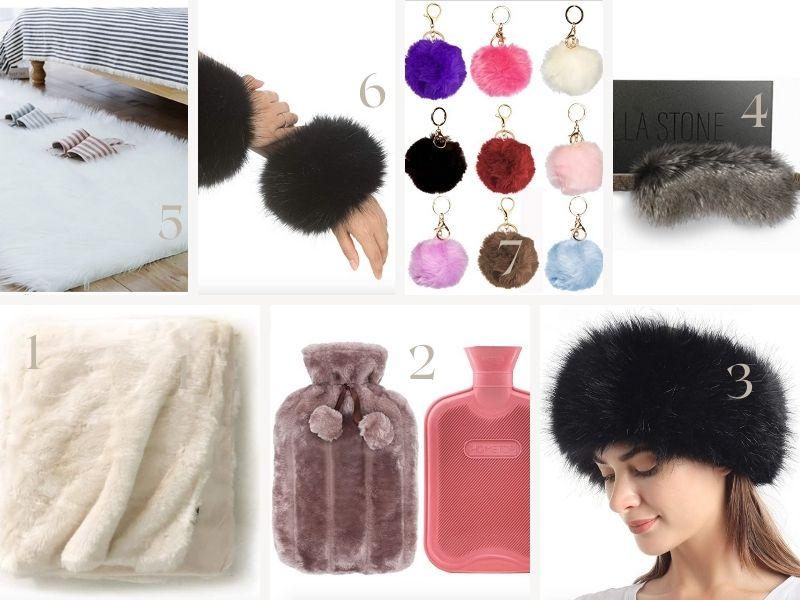 faux fur gift ideas