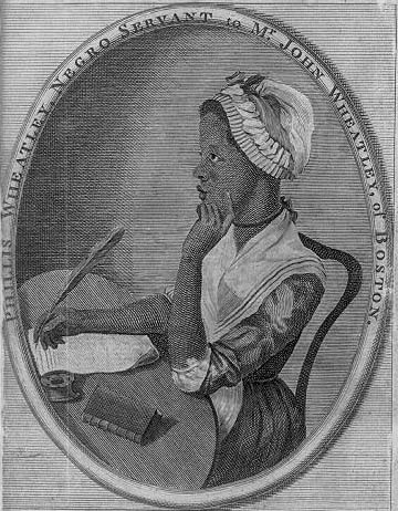 Phillis Wheatley (Library of Congress)
