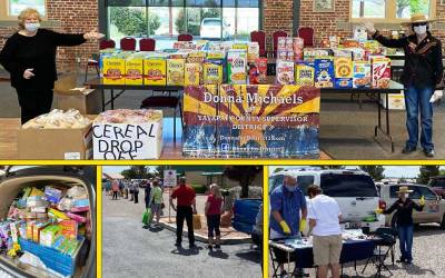 Meals on Wheels and the Great Cereal Handout