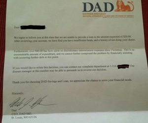 Dad-poses-as-bank-to-reject-loan-for-20