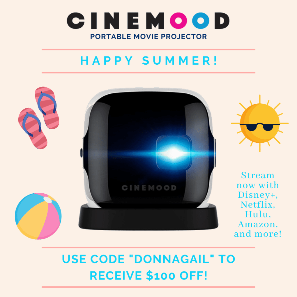 Save $100 off your purchase of any Cinemood product with the discount code DONNAGAIL