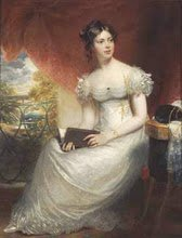 Regency Lady in white