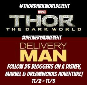 Guess who is going to LA for the #ThorDarkWorldEvent and #DeliveryManEvent in November?!