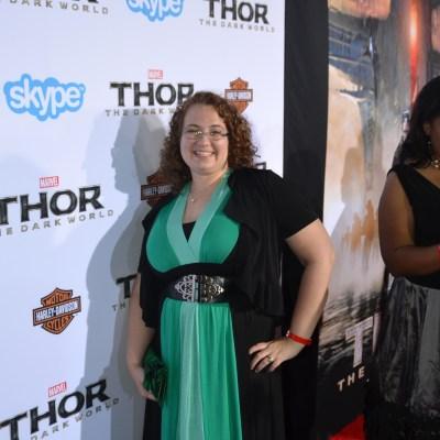 Thor Dark World Red Carpet at El Capitan Theatre