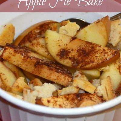 Healthy Apple Pie Bake
