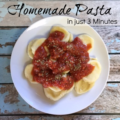 Make Fabio Viviani's Homemade Pasta in just 3 Minutes