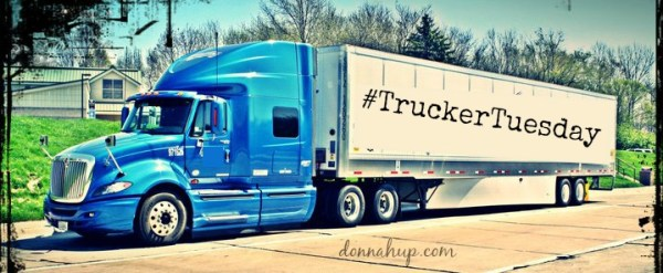 Trucker Tuesday Logo Trucking in the Winter #TruckerTuesday