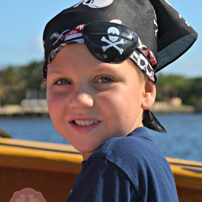 We Fought Pirates on our BlueFoot Pirate Adventures