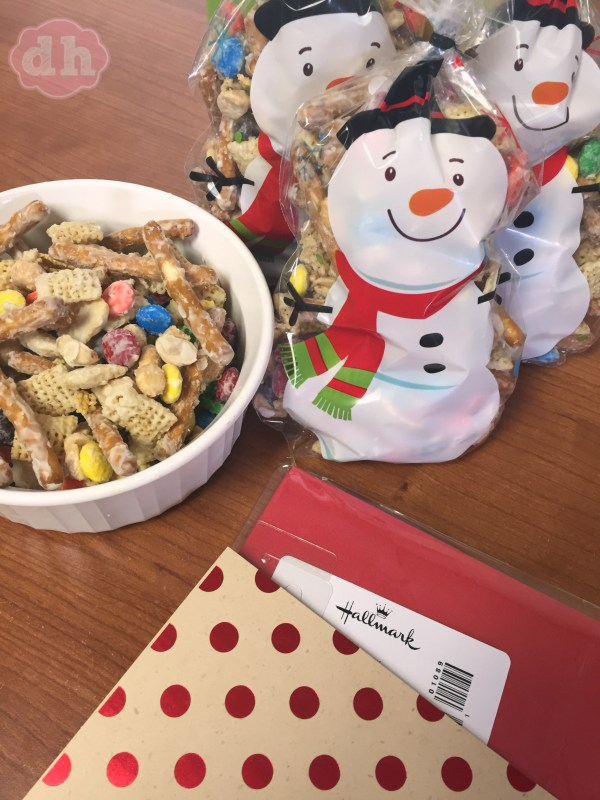 Keeping Traditions with Hallmark and My Mom's White Chocolate Party Mix