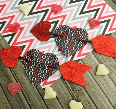 Valentine's Day Craft – Pencil Arrows