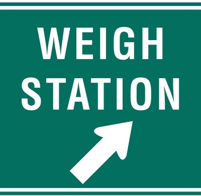 Truck Weigh Stations #TruckerTuesday