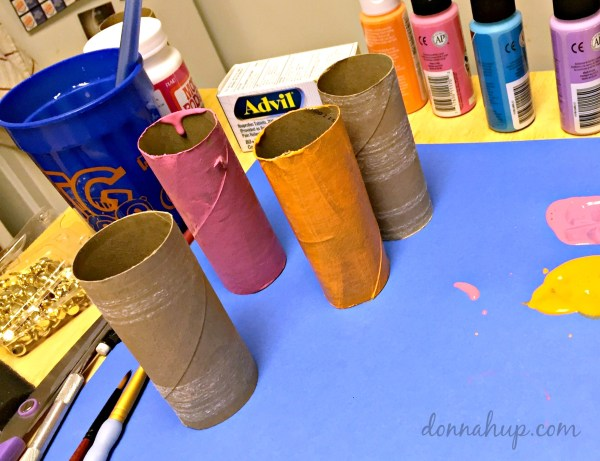 Toilet Paper Roll Crafts - DIY Race Cars #RaceDayRelief #CollectiveBias