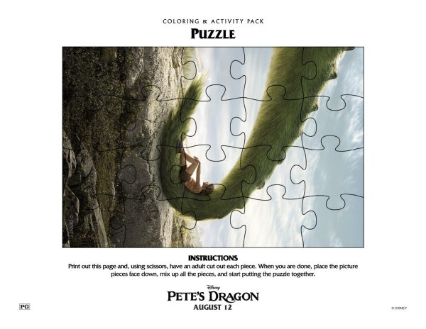 Pete's Dragon Coloring Sheets, Printables, and Activity Sheets