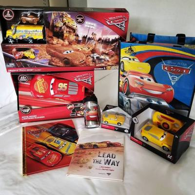 Get the latest Cars 3 Merchandise
