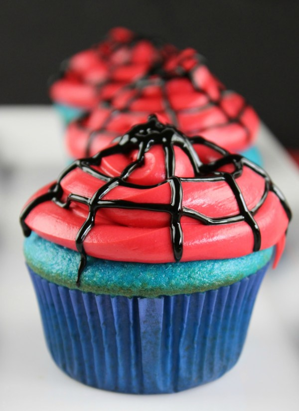 Spider Man Cupcakes Donnahup Com