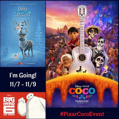 I'm Headed to LA for Disney Pixar's Coco Event!