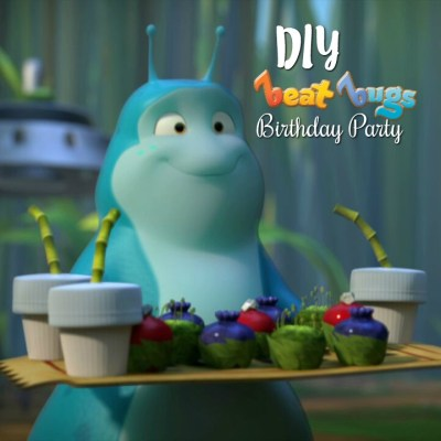 DIY Beat Bugs Birthday Party