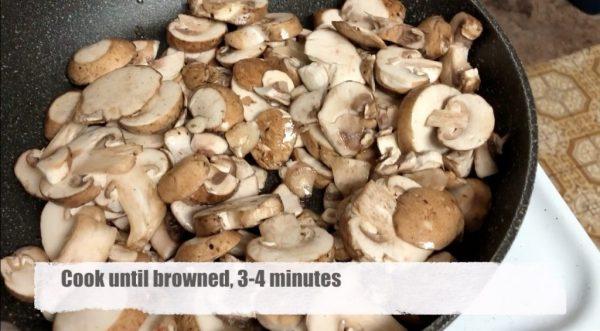 Mushroom Pasta Bake