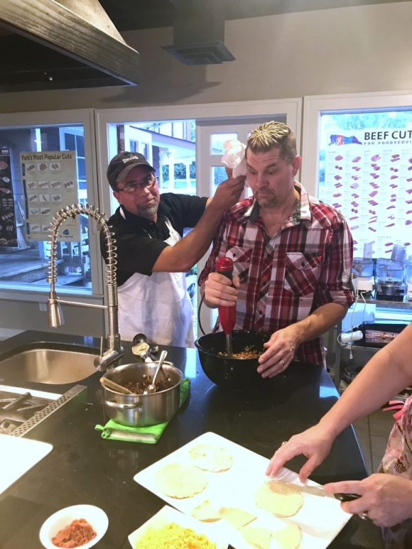 Team Building at That Cooking School