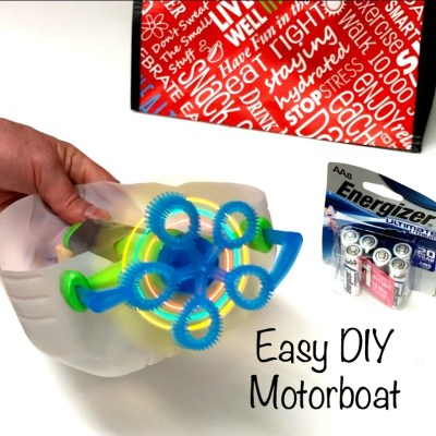 Easy DIY Motorboat