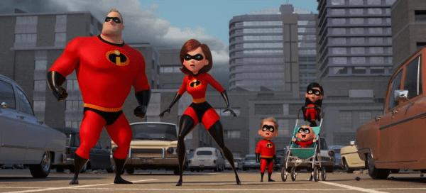 Incredibles 2 on Blu Ray