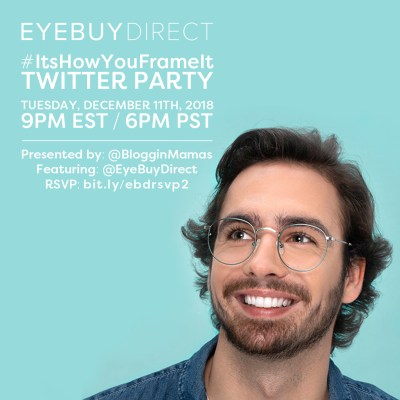 You're invited to the #ItsHowYouFrameIt Twitter Party