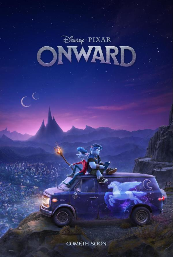 Teaser Trailer and Poster from Onward