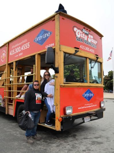 Bus Tour through San Francisco