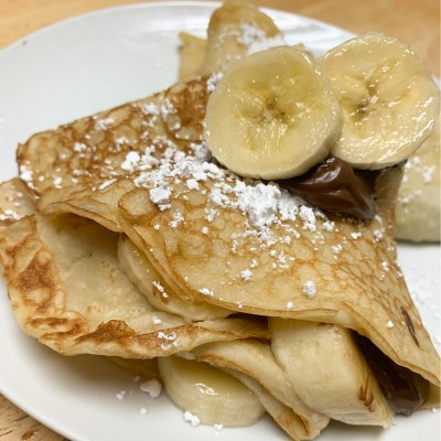 4 Ingredient Easy Crepes