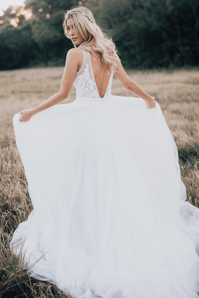 a&be bridal styled shoot
