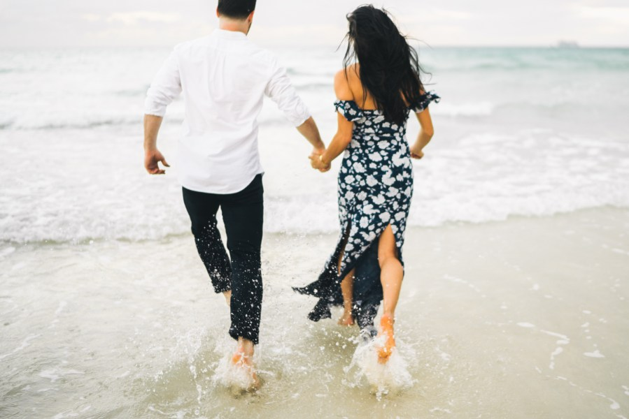 ocean couples session
