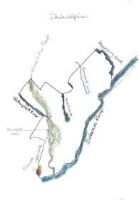 Map of Philadelphia in my head