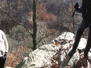 Lover's Leap in Wissahickon Valley Park. Photo by Donna L. Long.