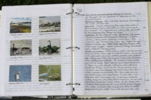 my nature journal for 20 Sept. 2008